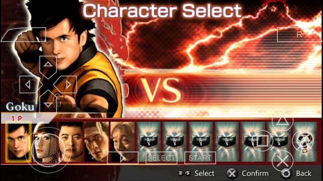 Dragon Ball Evolution PPSSPP ISO