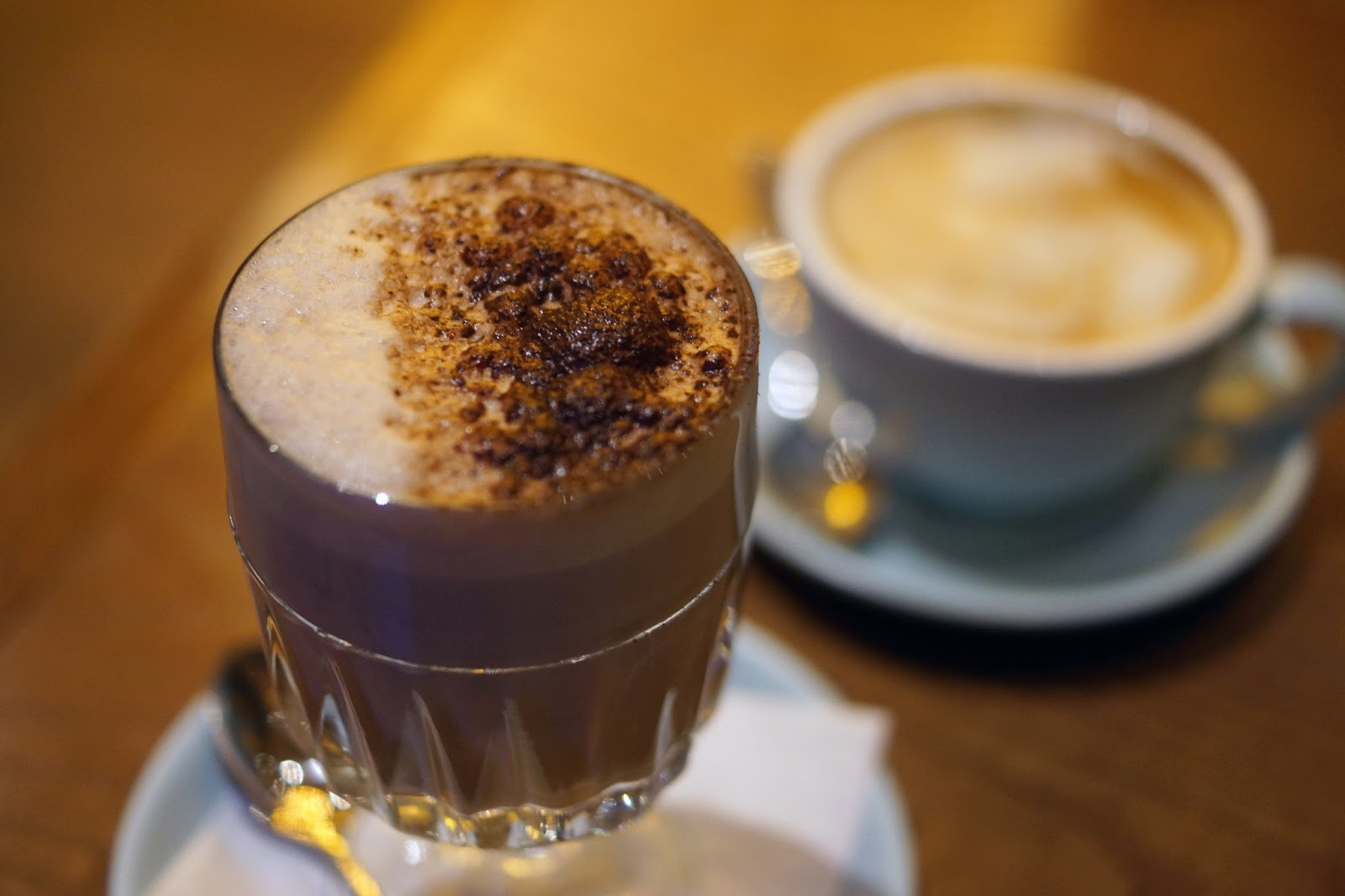 Hello Freckles Edinburgh Badger and Co Coffee Travel Review City Break Christmas