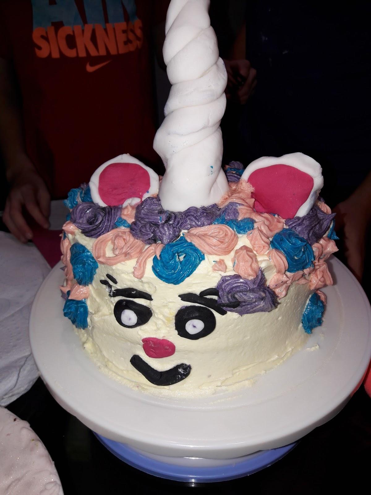 How To Make A Marble Sponge Cake