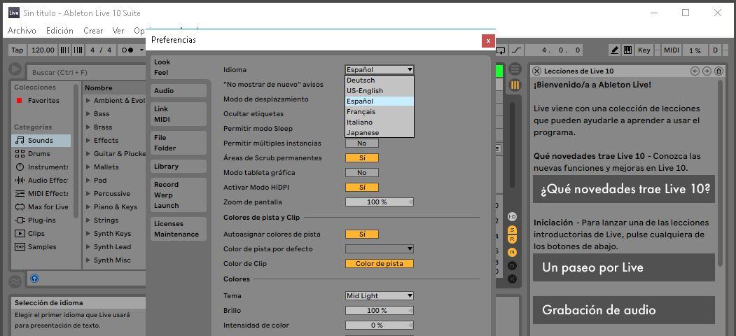 Ableton Live Suite 10 Full Español