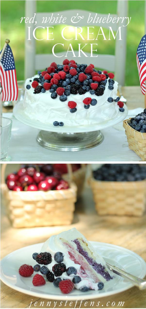 Jenny Steffens Hobick Red White Amp Blueberry Ice Cream