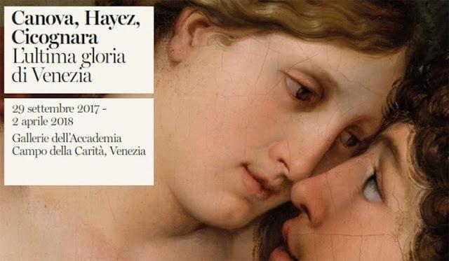 Mostra Canova, Hayez, Cicognara a Venezia.