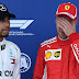 Hamilton acusa Vettel de desrespeitar as regras do Safety Car