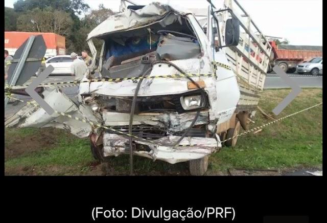 Acidente grave deixa dois mortos na BR-277
