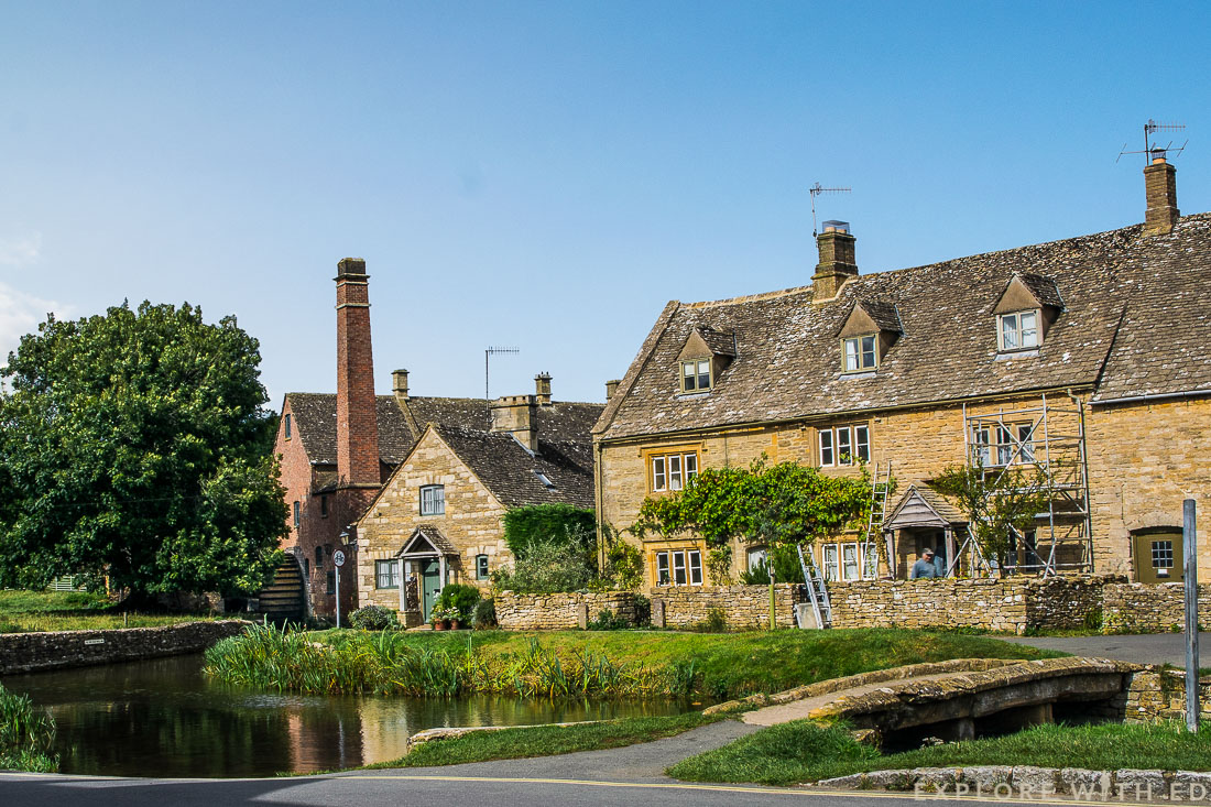Lower Slaughter, The Old Mill Museum, The Cotswolds