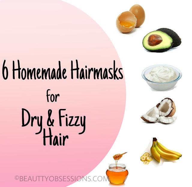 6 Homemade Hairmasks for Dry and Fizzy Hair