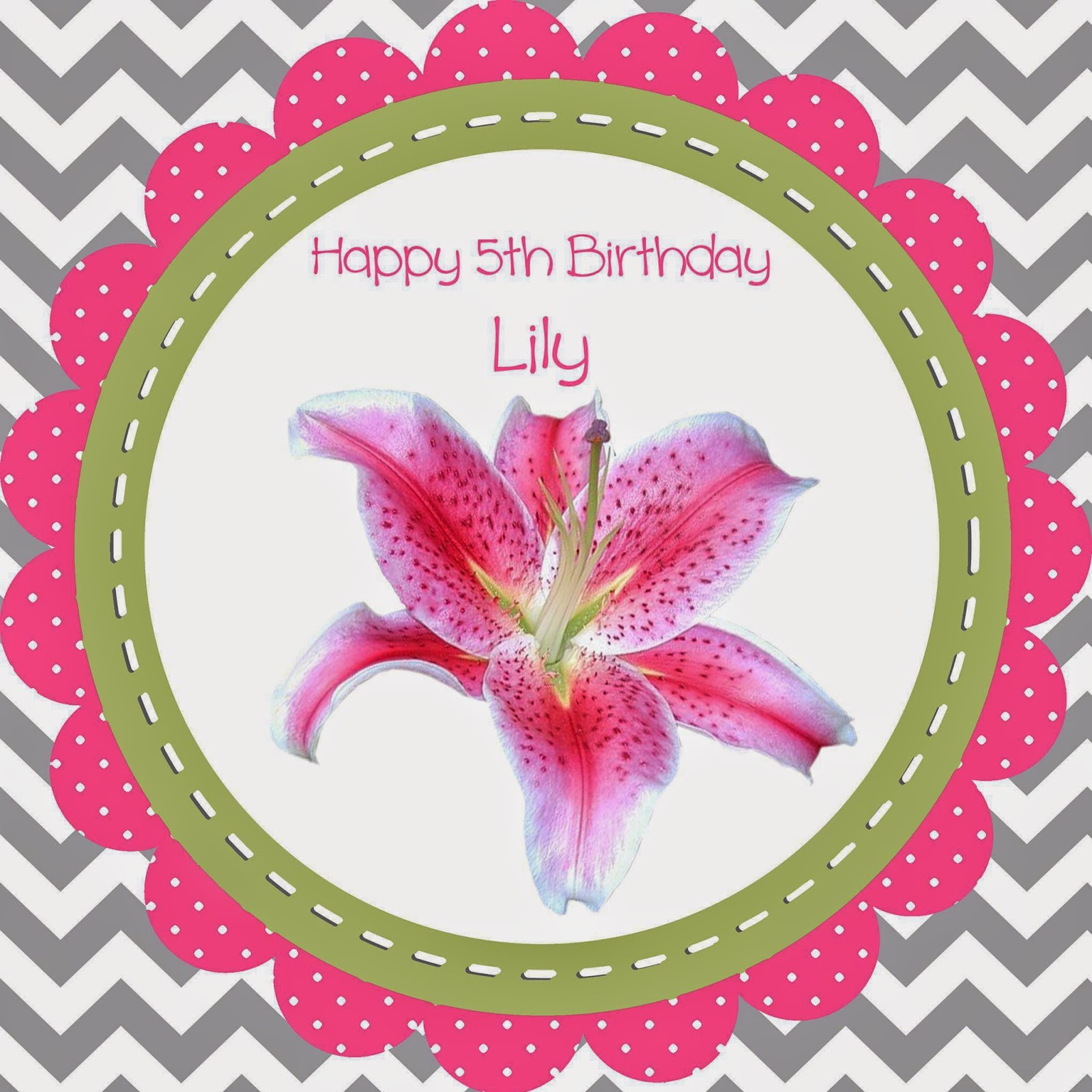 Rose and her lily lilys 5th birthday celebration my friend lisa shared this lovely photo with me and wrote celebrating the life of sweet lily happy birthday thinking of you today hannah izmirmasajfo