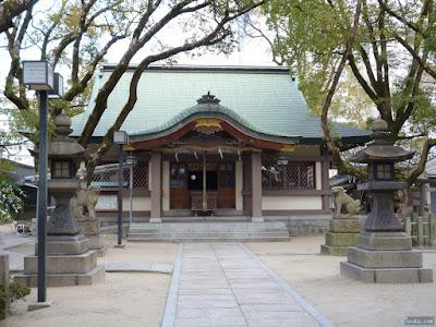 素盞烏尊神社拝殿