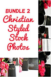 Bundle 2 Christian Styled Stock Photos