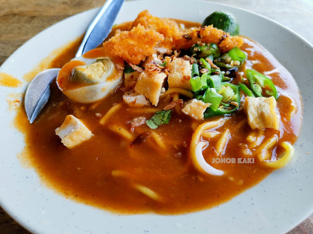 Auntie Lily Mee Rebus @ Restoran Wang Hin in Taman Daya JB 旺铭美食中心