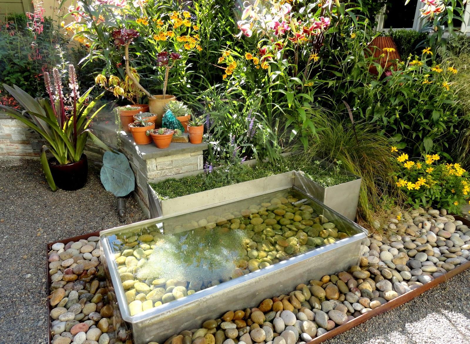 Décoration Jardin Extérieur Fontaine | Fontaine Rocher En Cascade ...