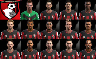 Facepack Bournemouth 2016 Pes 2013