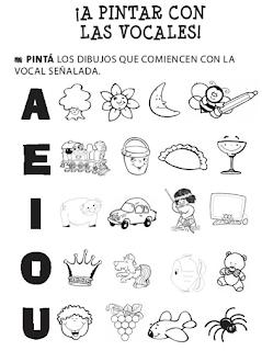 Herramientas Tic Para Educacion Infantil A Pintar Con Las Vocales