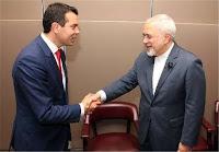 FM Poposki visits Iran