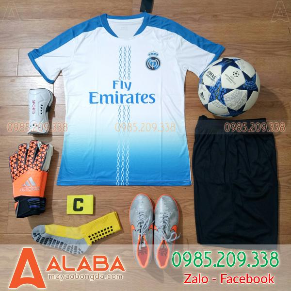 Áo CLB Real 2019 màu trắng