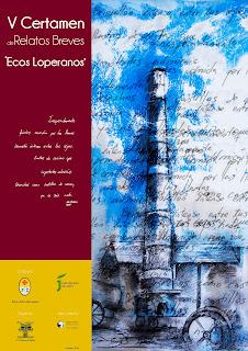 Cartel V Certamen Relatos Ecos Loperanos. Maricarmen Chueco