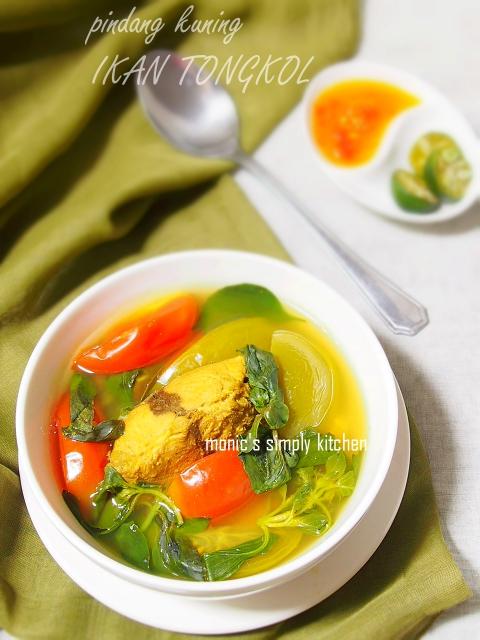 Pindang Kuning Ikan Tongkol Monic S Simply Kitchen