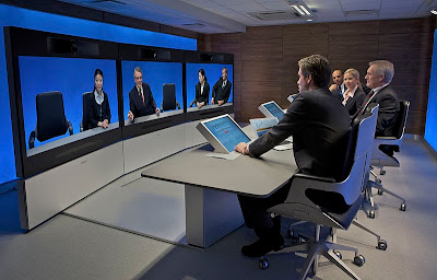 When we talk about video conferencing, we refer to the software services like Skype which not only exchange voices but also make the video exchange possible.  Obviously you don't feel comfortable with just hearing the voice of your teacher while learning. The video feature makes the learning environment more real with displaying the expressions, gestures and reactions of the teacher hence providing ways to understand each other better.