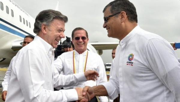 Presidente Correa irá a la firma de la paz en Colombia