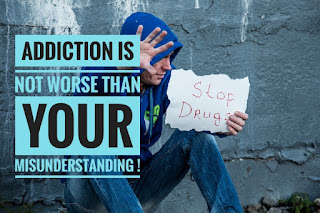 Addiction is not worse than your misunderstanding