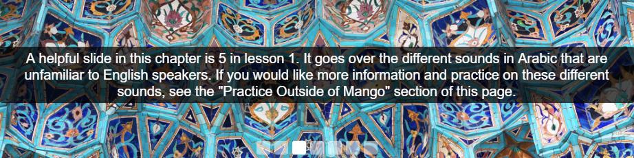 Mango Unit 1, Chapter 1, Slide 3