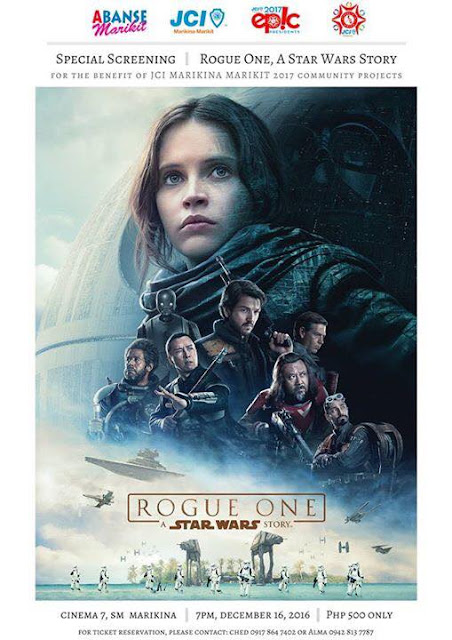 JCI Marikina Marikit Special Screening of Rogue One