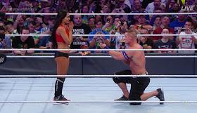 Wrestler John Cena Propose To Long Time Girlfriend Inside The Ring [Photo]