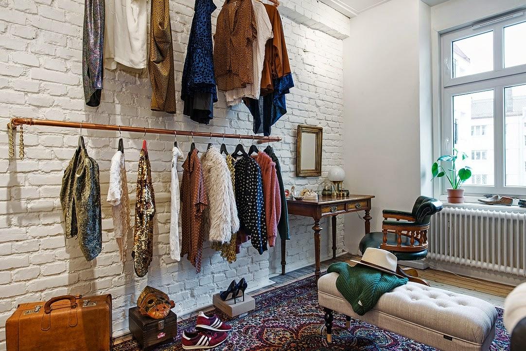 Decoraci n f cil vestidor vintage repleto de ideas - Casa de materiales ...