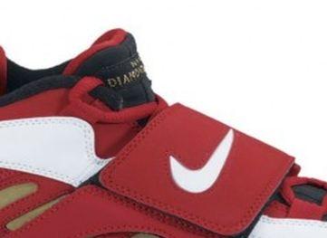 Nike Air Diamond Turf II Red Gold (2012)
