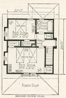 sears Marquette second floor layout