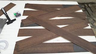 réaliser fabriquer tuto tutoriel diy zombie barrière faux bois effet bois peinture halloween