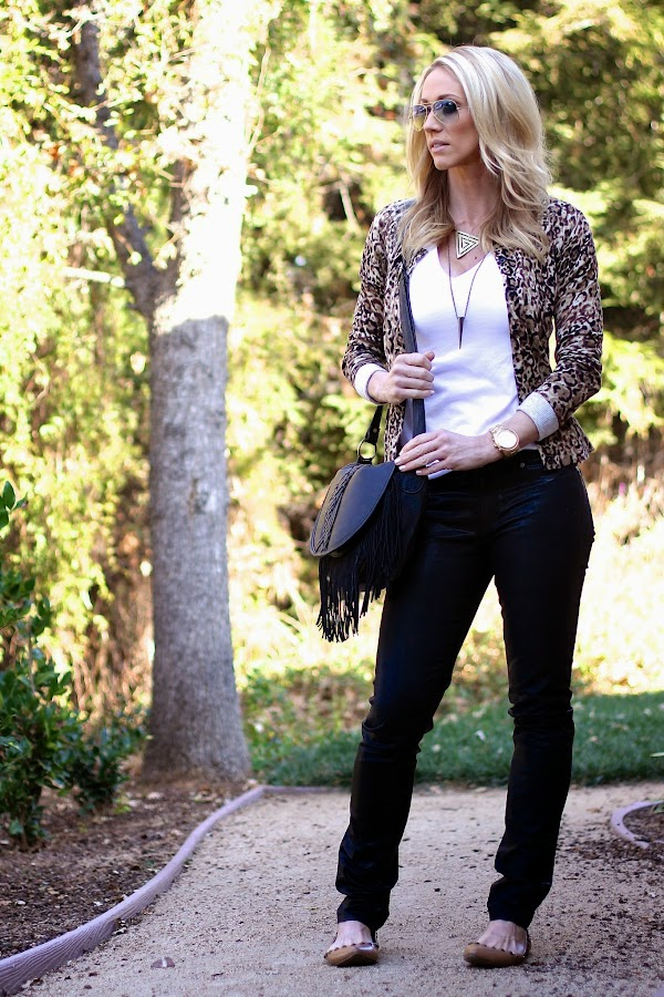 casual leopard style