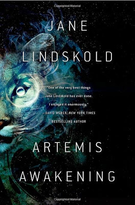 Artemis Awakening by Jane Lindskold – Book cover