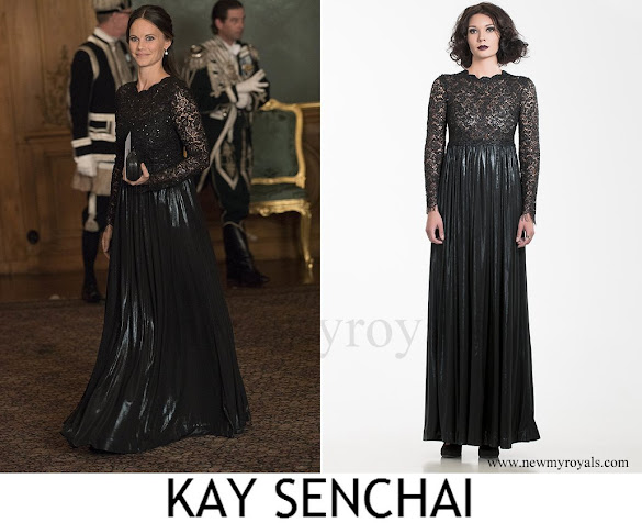 Princess Sofia wore KAY SENCHAI Dress Spring-Summer 2015