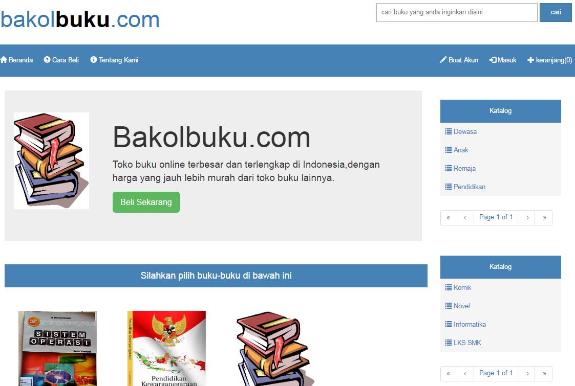 Download Aplikasi Book Store Dengan PHP dan MySQL Database