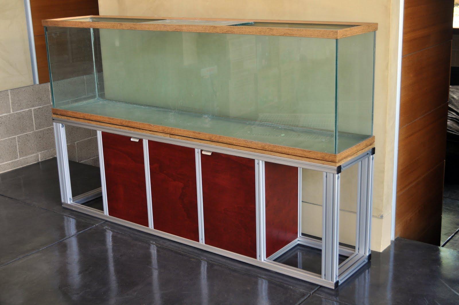 Aquarium Stand 80 20 Few Things Diy Aquarium Tank Stand