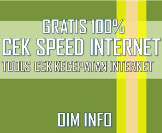 Cara Cek Kecepatan Internet Dengan Mudah