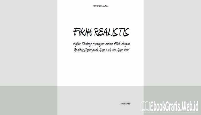 Ebook Fikih Realistis