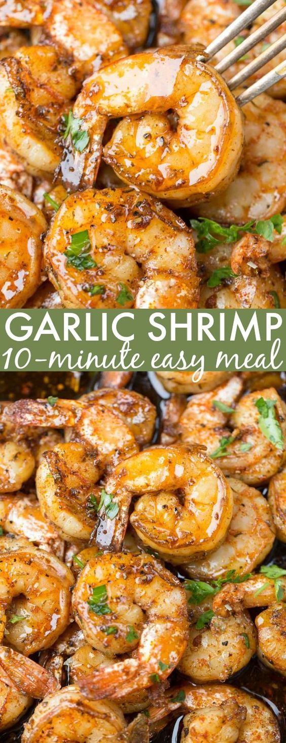 Garlic Butter Sauteed Shrimp #garlic #Butter #Sauteed #shrimp #Dinner #Easydinner #Healthydinner #Healthyfood