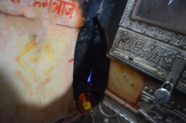 Blue Flame At Sri Jwala Ji Temple