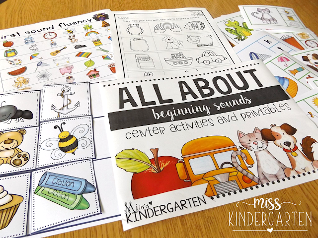 https://www.teacherspayteachers.com/Product/All-About-Beginning-Sounds-center-activities-and-printables-2161128