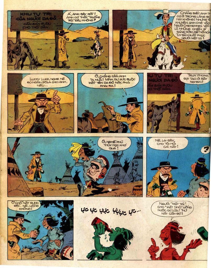 Lucky Luke tap 2 - ke san tien thuong trang 14