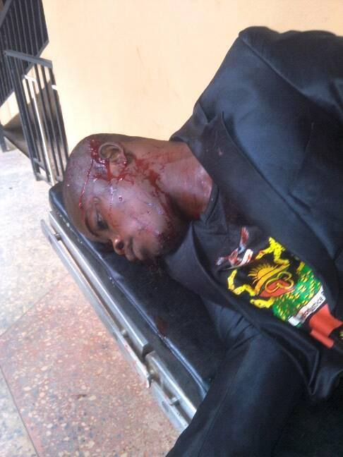 [VIDEO] Shooting of IPOB member in Ekwulobia, Anambra State