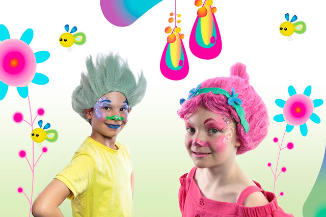 Free Trolls makeover from NOW TV