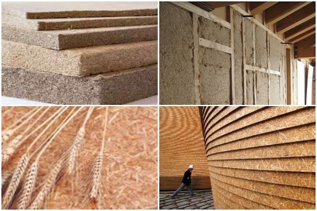 materiali edili innovativi da canapa e grano
