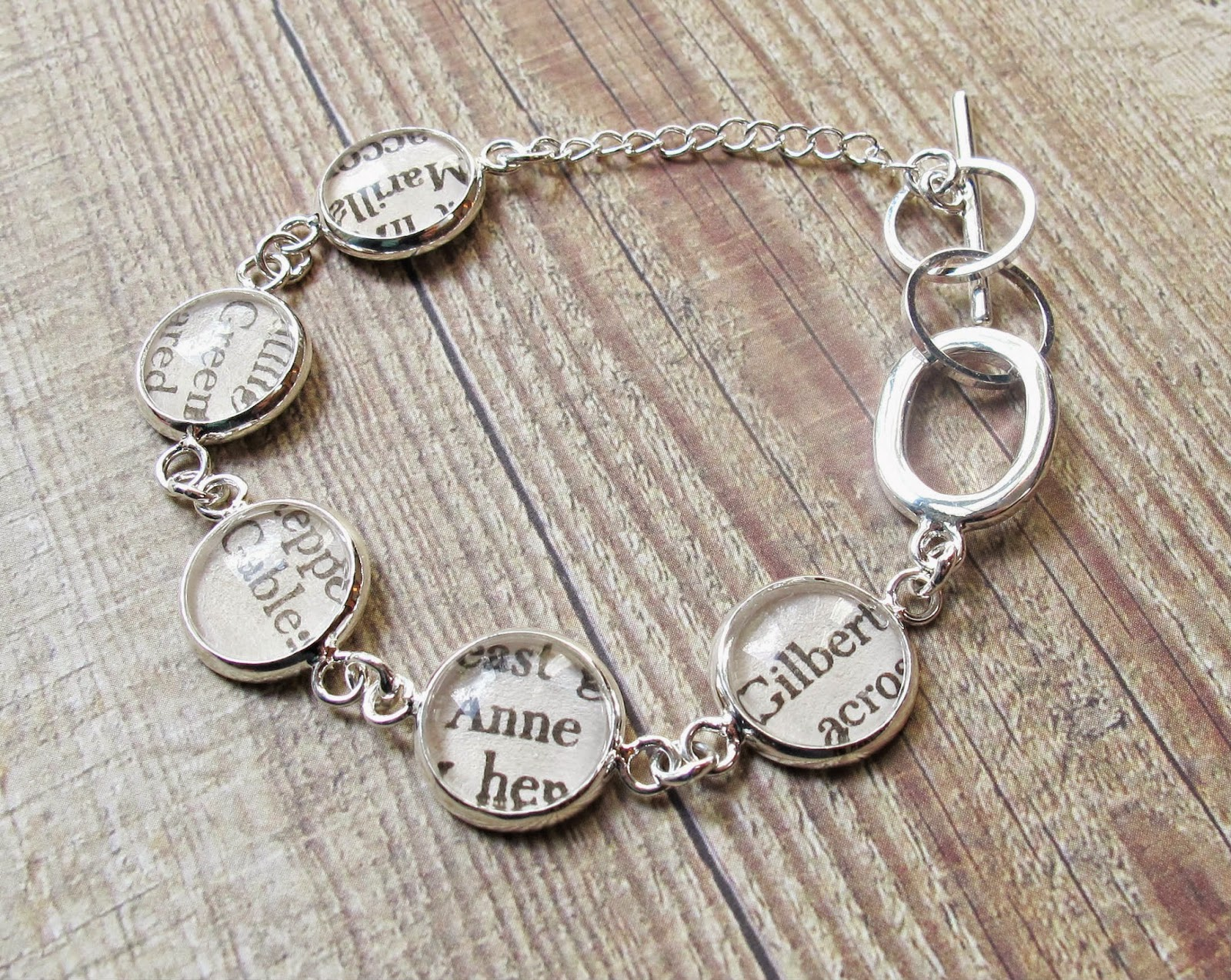 image jewellery jewelry two cheeky monkeys literature bracelet silver anne of green gables gilbert blythe