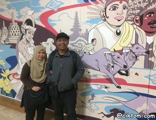 Percutian ke Jakarta