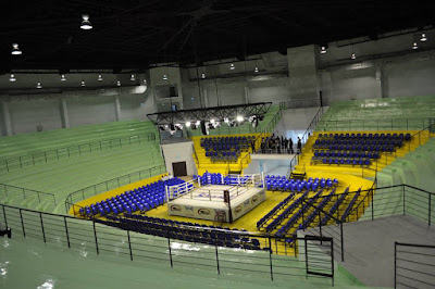Boxing Stadium in Bangkok