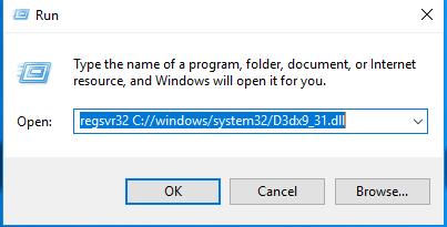 Télécharger D3dx9_31.dll Fichier Gratuit Installer