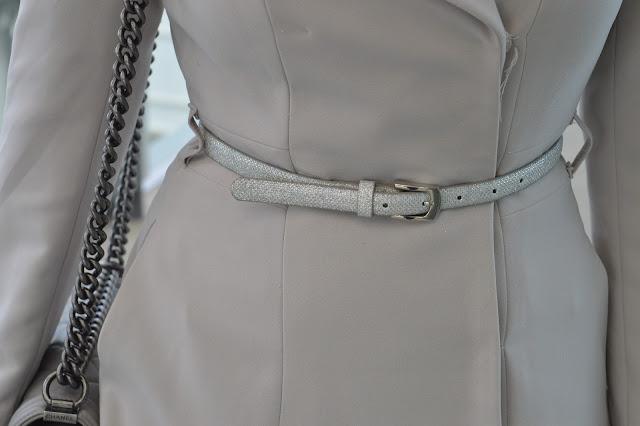 Sydney fashion Hunter - The Wednesday Pants #41 - H&M Coat & Forever New Belt